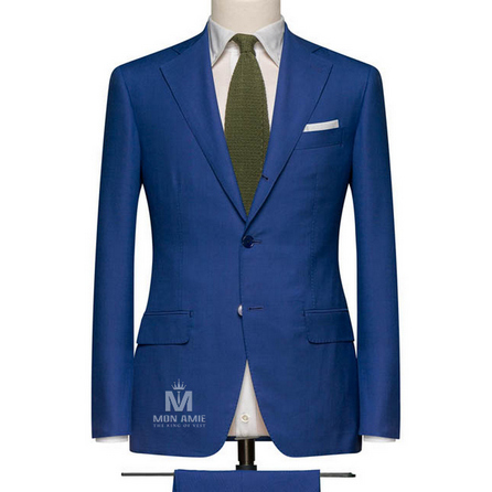 Navy Notch Label Suit 71114DT70041