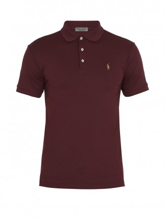 Red Brick Cotton Polo Shirt