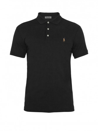 Grey Oxford Cotton Polo Shirt