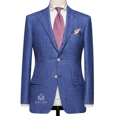 Striped Blue Notch Label Suit 25000DT601