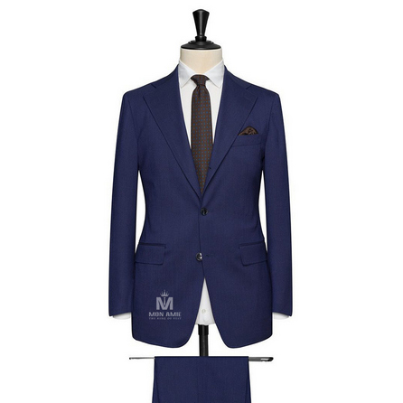 Navy Notch Label Suit TOV23
