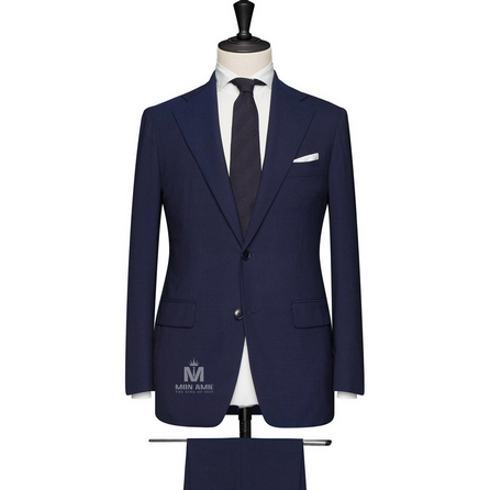 Burple Blue Notch Label Suit 624DT60730