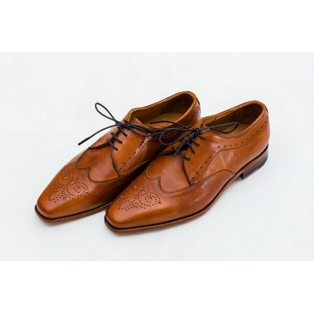 LIGHT BROWN DERBIES