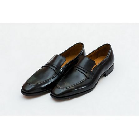 BLACK NAPPA ASOLA LOAFER