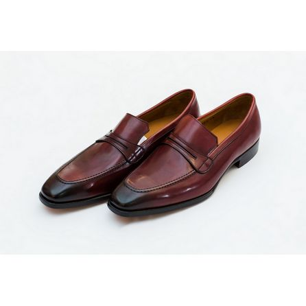 BRICK  RED NAPPA ASOLA LOAFER