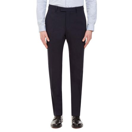 Classic Navy Wool Suit Trouser