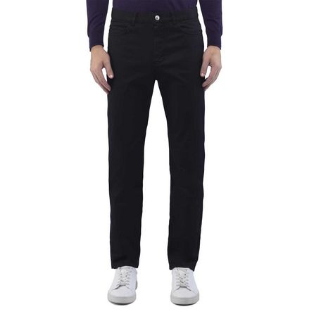 Wool Blend Cotton Trouser