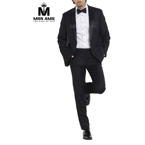 Slim fit Black Notch Label Tuxedo