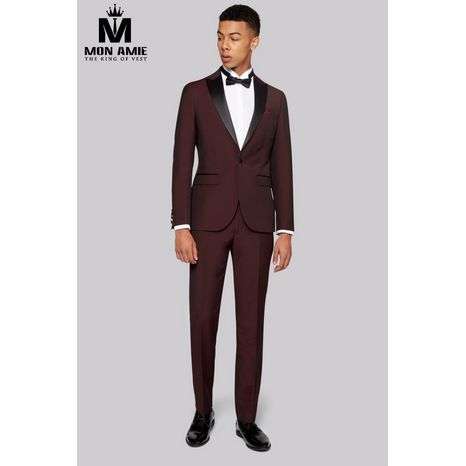Red Brick Peak Label Tuxedo