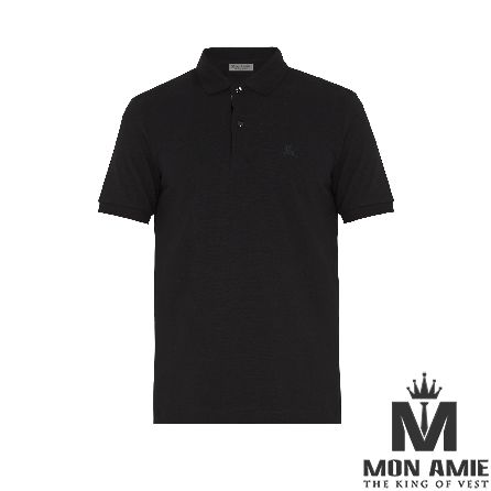 Lightweight Black Cotton T-Shirt