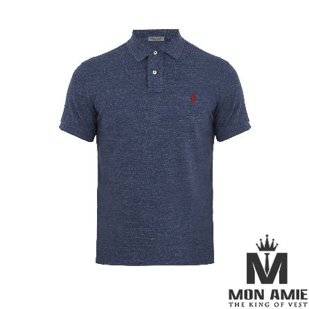 Striple Blue Polo Shirt
