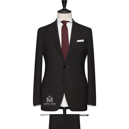 Black Notch Label Suit 71106DT7009