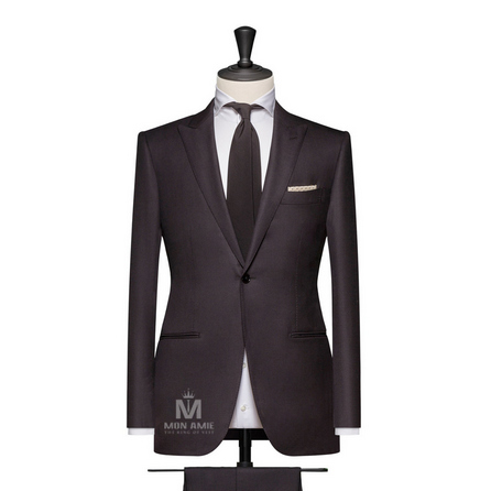 Black Peak Label Suit 624DT60713