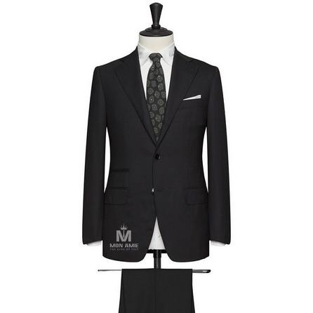 Black Notch Label Suit 624DT60705