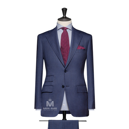Blue Notch Label Suit