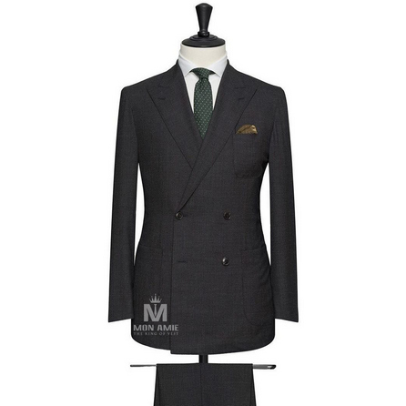 Charcoal Peak Label Suit 624DT60810