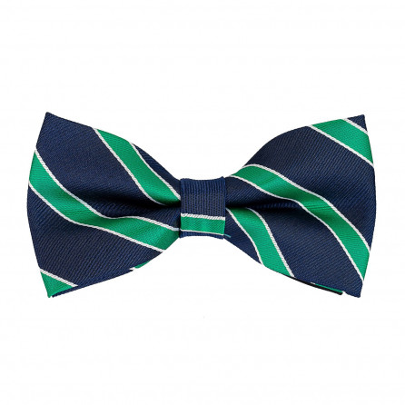 Striped Navy and Green