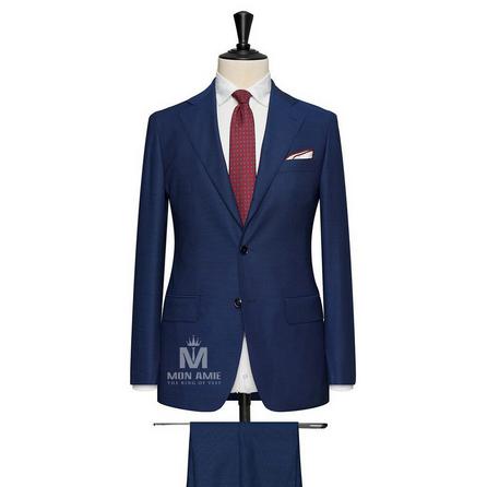 Navy Notch Label Suit 624DT60781