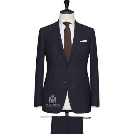 Navy Notch Label Suit 624DT60705