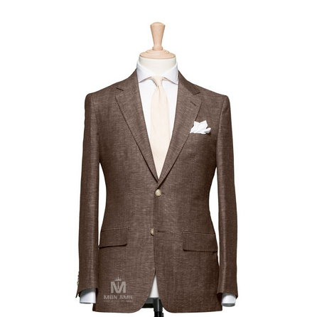 Plain Brown Notch Label Suit 1982CE0002