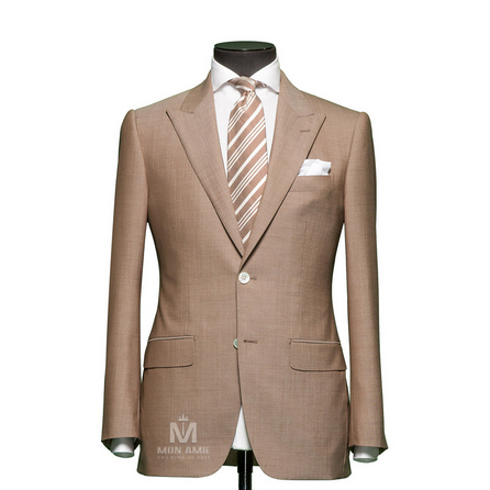 Plain Brown Peak Label Suit 1134CE0002