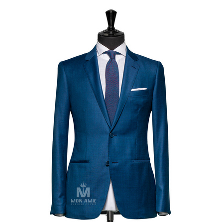 Plain Blue Notch Label Suit 6964ZCE0001