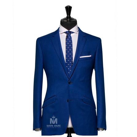 Plain Blue Notch Label Suit  624DT60727
