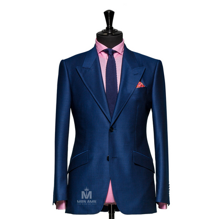 Plain Blue Peak Label Suit 1134ZCE0002