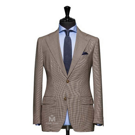 Brown Notch Label Suit 624DT60778