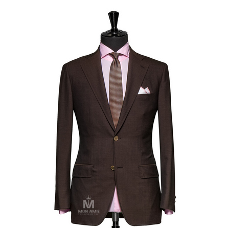 Plain Brown Notch Label Suit 1134ZCE0001