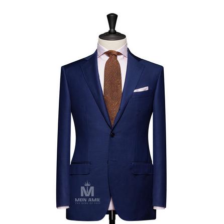 Plain Blue Notch Label Suit 625DT60914