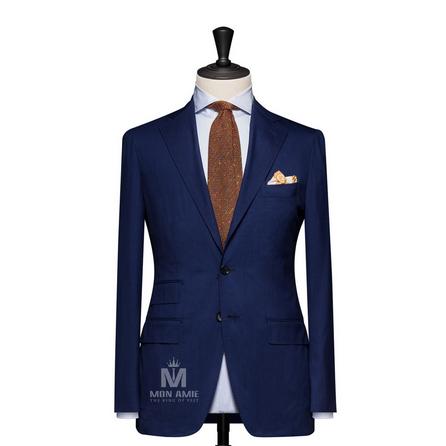 Plain Blue Notch Label Suit 625DT60927