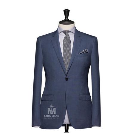 Plain Blue Notch Label Suit 624DT60767