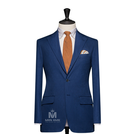 Plain Blue Notch Label Suit 823DT60896