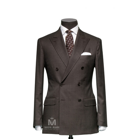 Plain Brown Peak Label Suit 624DT60760