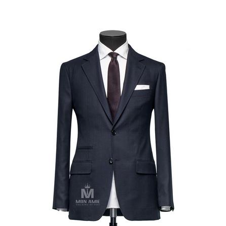 Glencheck Blue Notch Label Suit 147DT100634